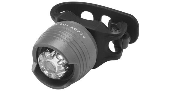 RFR Diamond HQP etuvalo white LED , harmaa/musta